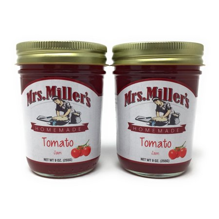 Mrs Millers Tomato Jam(Amish Made) ~ 2 / 9 oz. (Tomato Jam)