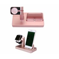 Wireless Charger 2-in-1 Watch Charger Holder 7.5W Wireless Charger Compatible Apple iWatch 2/3/4,Apple iPhone Xs Max XR XS X 8