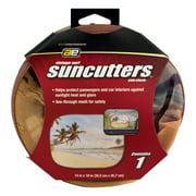 Auto Expressions Suncutters Side Shade Vintage Surf - 1 CT1.0 CT