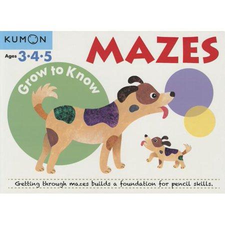 Grow to Know Mazes