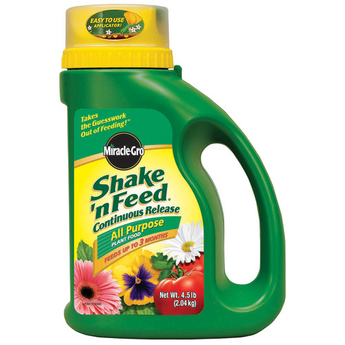 Miracle-Gro Shake 'n Feed All Purpose Plant Food, 4.5 lb