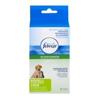 Febreze Pet Odor Eliminator BISSELL Style 1526 Replacement Vacuum Filter, 1 Pack, 15263