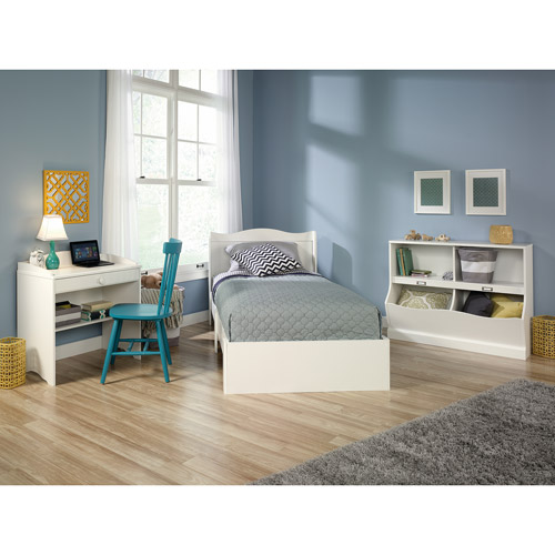 Sauder Storybook 3-Piece Bedroom Set, Soft White