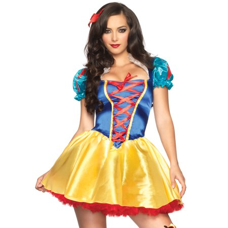 Leg Avenue Women's Fairytale Snow White Princess Costume