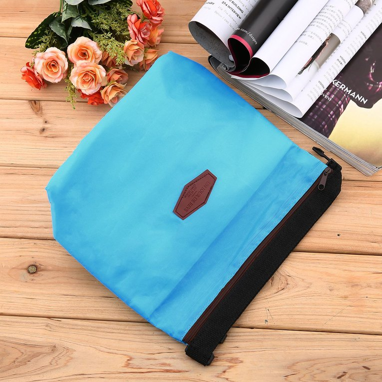 1Pc Zipper Insulated Thermal Bag Insulation Bento Picnic Lunch Pouch Fast Food Box Handy Cooler Keep Warm popular Worldwide sale