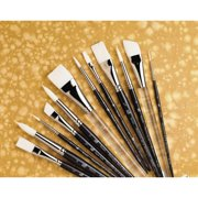 Princeton Artist Brush Short Handle Stroke Brush (Set of 3)
