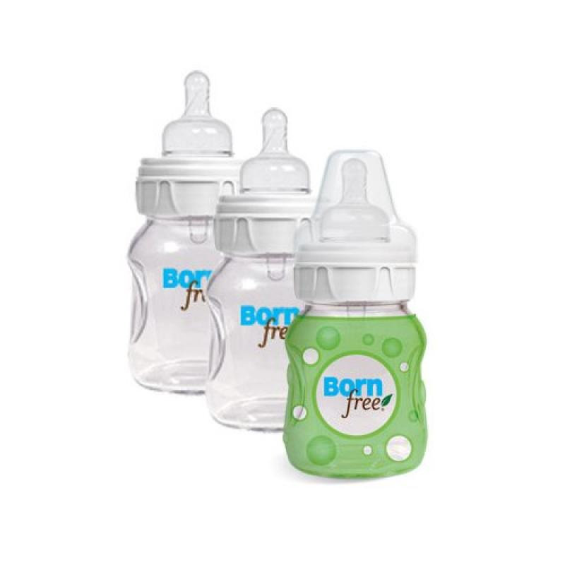 Wholesale Bornfree Natural Feeding Glass Bottles Slow Flow 3 Pack 5 oz, [Baby & Children, Baby Bottles & Cups] by DOBA Kids Toy