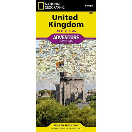 (National Geographic Adventure Travel Maps: United Kingdom (Other))