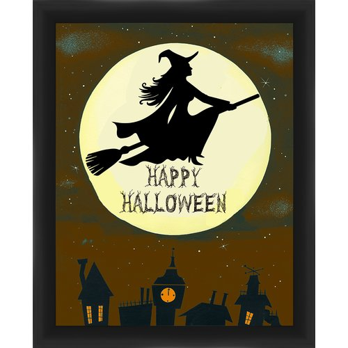 PTM Images Halloween Witch Framed Graphic Art