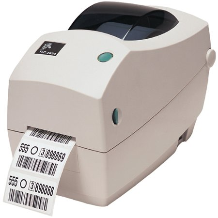Zebra TLP 2824 Plus Thermal Label Printer - Monochrome - 4 in/s Mono - 203 dpi - USB - Fast Ethernet