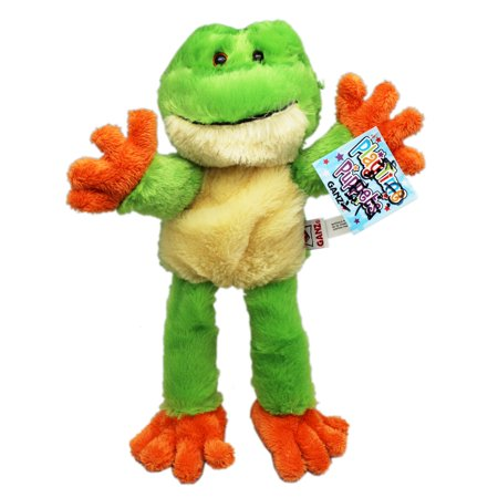 Playtime Puppets Small Size Kids Hand Puppet: Frog - By Ganz