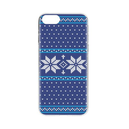 FLAVR iPhone 8/7/6S Blue Ugly Xmas Sweater Case - 26974 - image 1 of 1
