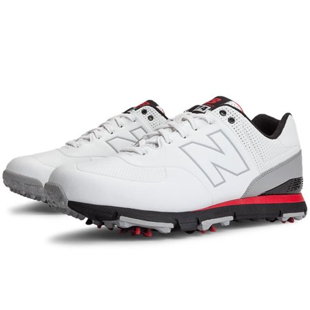 New Balance Mens Nbg574 Golf Shoes 11 1/2 Us D White/Red