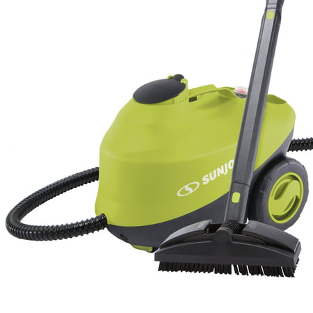 Sun Joe STM30E Heavy Duty Steamer - 212-Degree Steam Blast at 50-PSI - 30-Second Rapid Heating - Kills and Sanitizes Germs Quickly clean your toughest dirt, germs, and grimewithout harsh chemicalsthanks to the STM30E All-Purpose Rapid-Heating Steam Cleaner from SUN JOE. Say good-bye to chemical fumes, smells, and discoloration, and kill bacteria, viruses, mold, mildew, fungus, dust mites, and other sickness- and allergy-causing agents with the natural power of steam! Featuring the latest in steam-pressure technology, the STM30E reaches a temperature of 212F (100C) in as little as 30 seconds! Includes 8-piece accessory kit for a variety of cleaning tasks, plus auto shut-off and low-water indicators to make cleaning a breeze. Sun Joe's STM30E Steam Mop Cleaner is perfect for a wide range of home and auto applications. With it's powerful 13-amp motor and continuous 50-PSI high-pressure stream, watch years of yuck disappear in seconds with a fast blast of hot-pressure steam. Tackle common surfaces around the house, such as counters, floors, wood, carpets, laminate, tile, ceramic, grout, rugs, glass, bathrooms, showers, furniture, leather, appliances, stoves, grills, and more. Eliminate deep-seated dirt and odors from vehicle interiors, for detailing all cars, trucks, RVs, campers, floor mats, upholstery, seat cushions, dashboards, consoles, vents, door panels, windows and jambs. With the included jet nozzle, copper & nylon utility brushes, wallpaper steam plate, cleaning brush, window/tile squeegee, and extension tubes, you can keep your home and vehicles clean & sanitized thanks to the natural grime-fighting power of steam!