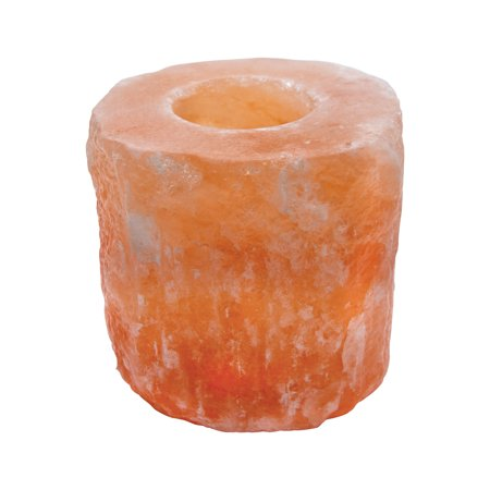 Himalayan Salt Tea Light Natural Shape Candle Holder - Pack of -