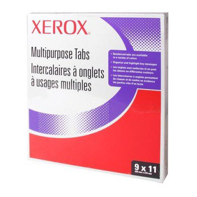 - Xerox Straight Collated Copier Tabs XER3R4417