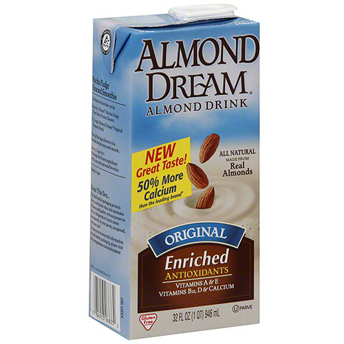 Almond Dream Original Almond Drink, 32 oz (Pack of 12)