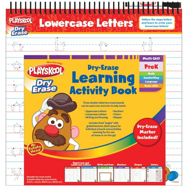 Playskool 1509877 Dry Erase Learning Activity Book by Playskool