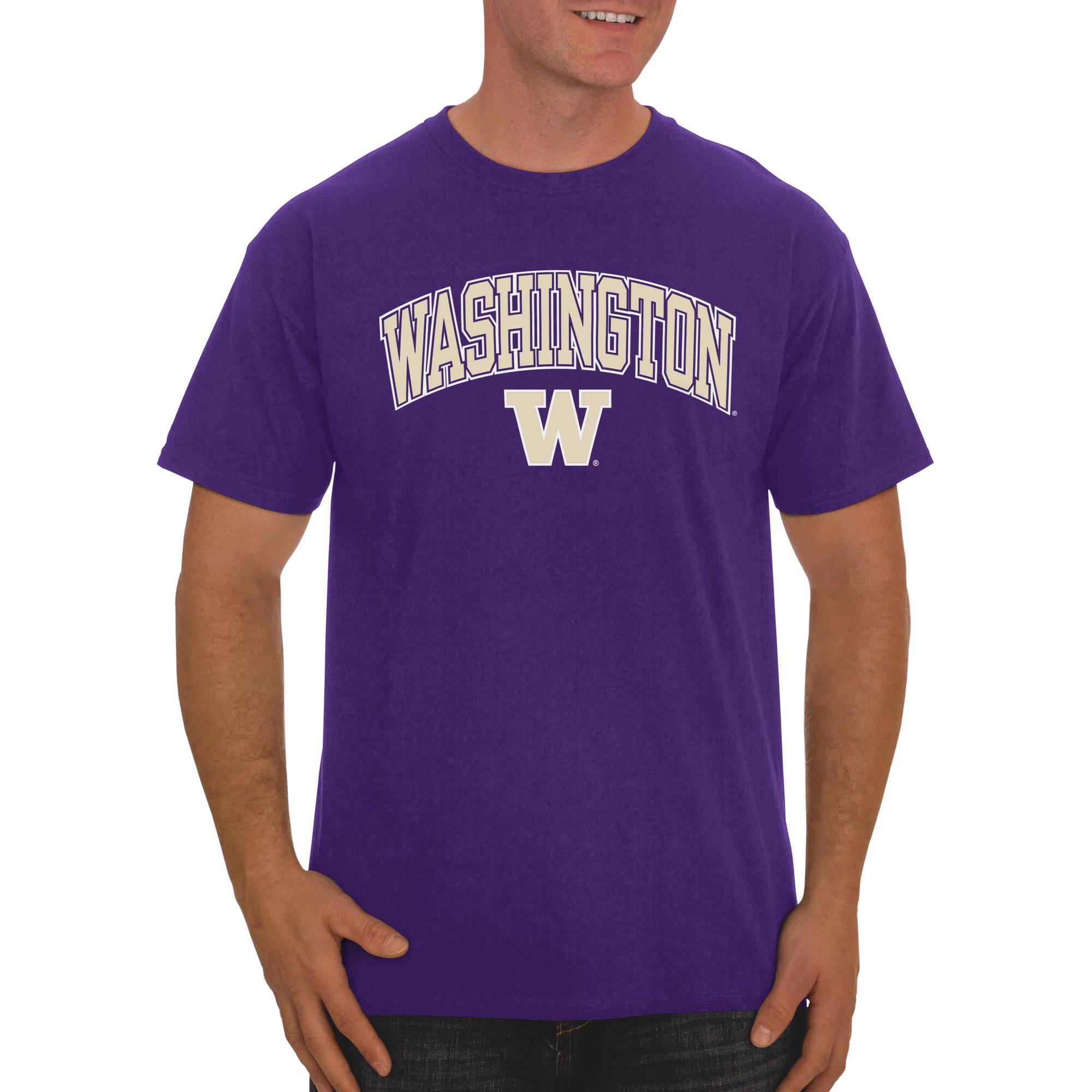 Russell NCAA Washington Huskies Big Men's Classic Cotton T-Shirt