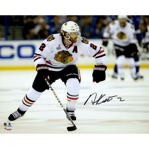 "Duncan Keith Chicago Blackhawks 2015 Stanley Cup Champions Autographed 8"" x 10"" Stanley Cup Finals White... by Fanatics Authentic"