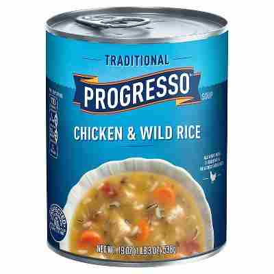 Progresso® Traditional Chicken & Wild Rice Soup 19