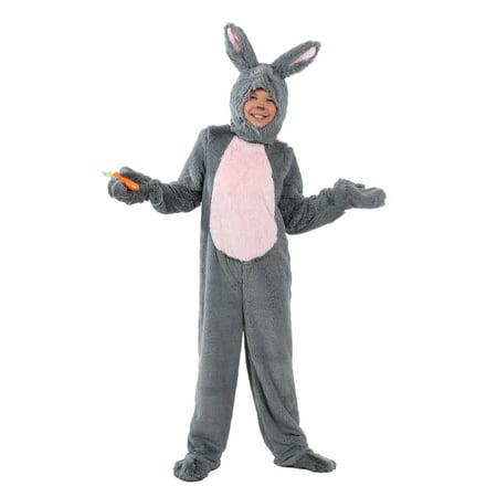 Child Grey Bunny Costume