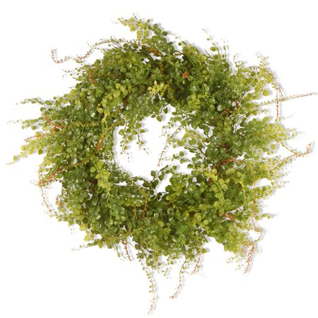 Fake Boxwood Wreath (22