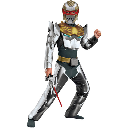 Power Rangers Robo Knight Megaforce Classic Muscle Child Halloween Costume
