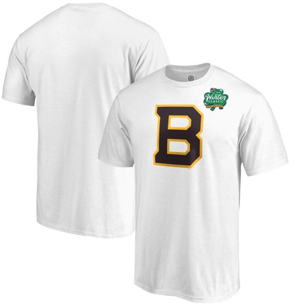 sneakers for cheap 1dbb3 95eb8 Boston Bruins Fanatics Branded 2019 NHL Winter Classic Primary Logo T-Shirt  - White