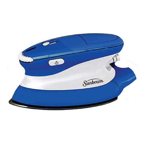 Sunbeam 2630 Hot-2-Trot Compact Travel Iron with Nonstick Soleplate