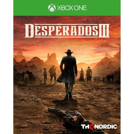 Desperados III, THQ-Nordic, Xbox One, 811994021762