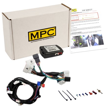 Plug-n-Play OEM Remote Activated Remote Start Kit For 2016-2018 Toyota