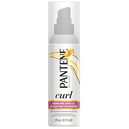 Pantene Curl Perfection Scrunching Spray Gel  5 7 Fl Oz