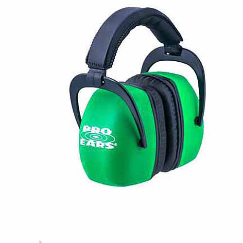 Pro Ears Standard Hearing Protection Ultra Pro, NRR 30, Neon, Green