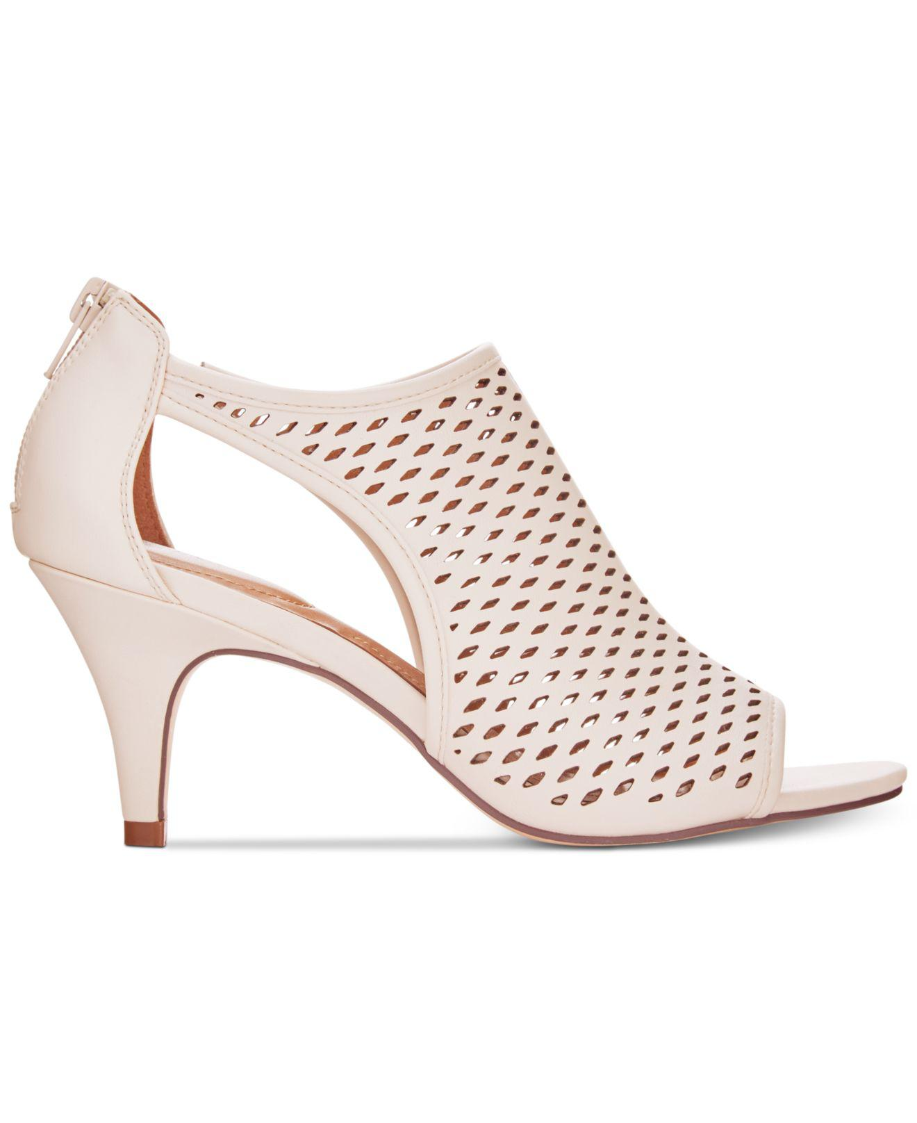 Details about  /Style /& Co Womens Haddiee Open Toe Classic Pumps