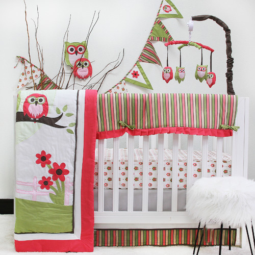 Harriet Bee Perseus Owl 10 Piece Crib Bedding Set