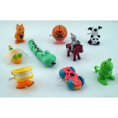 8 Pc Wind Up Toy Assortment - Wind Up Toys Bulk