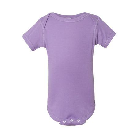 0c00cc0ba Rabbit Skins T-Shirts Infant Baby Rib Bodysuit 4400 - Walmart.com