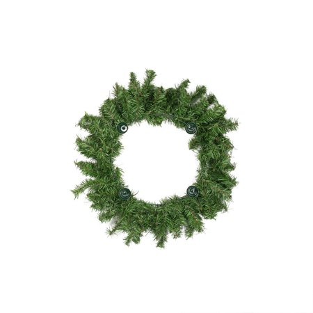 """12"""" Two-Tone Pine Artificial Christmas Advent Wreath - Holds 4 Taper Candles, decorative By Darice Ship from US"""