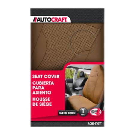 Autocraft Seat Cover, Sleek Ergo, Tan