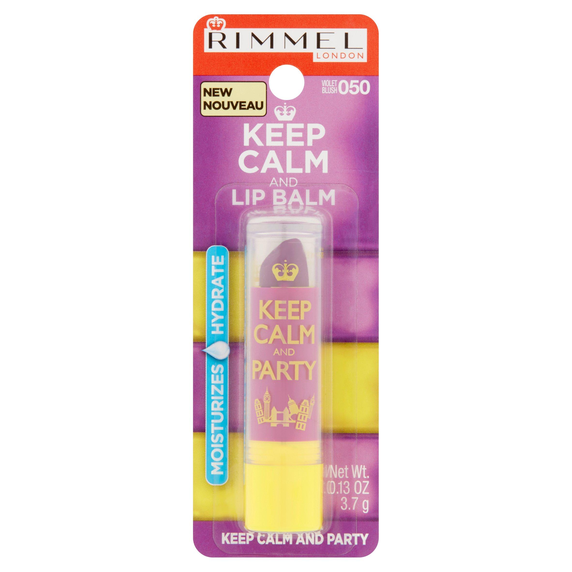 Rimmel Keep Calm and Kiss Lip Balm, 020 Pink Blush, 0.13 oz ...