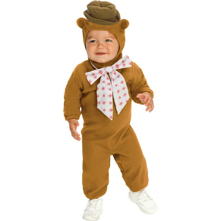 The Muppets Fozzie Bear Baby Romper Costume](Baby Boy Bear Costume)