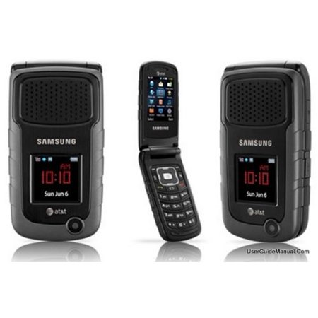 Unlocked Samsung Rugby II SGH - A847 A847M A847R Black for AT&T T-Mobile  Certified (Samsung Sgh T819 T-mobile)