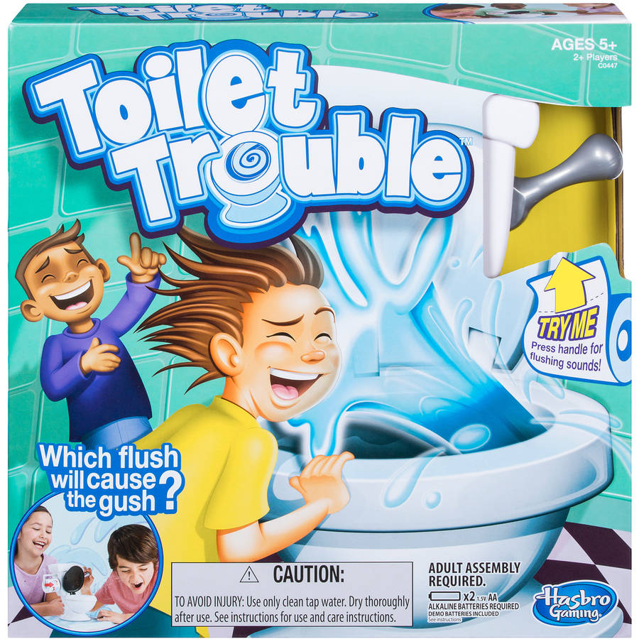 Toilet Trouble Game by Hasbro