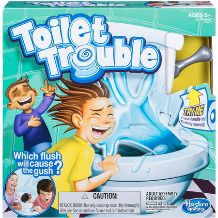 Toilet Trouble Game, for Kids and Families, Ages 4 and up](Halloween Kid Games School)