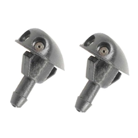 4AMCA For 04-08 Chevrolet Aveo 1.6L Windshield Washer Fluid Nozzle Jet Sprayer Set of 2PCS New 2004 2005 2006 2007 2008
