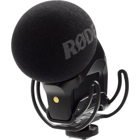 Rode Stereo VideoMic Pro with Rycote Lyre (Rode Videomic With Rycote Lyre Suspension System)
