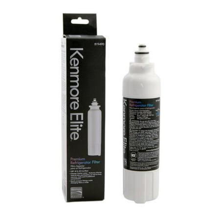 KenmoreElite 9490 46-9490 Kenmore Elite 469490 Refrigerator Water Filter 9490 469490 ADQ73613402 Replacement Refrigerator Water Filter, LT800P, 1 (Pur Water Filter For Kenmore Elite Refrigerator)