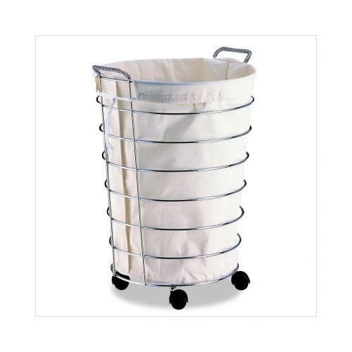 Bundle-60 OIA Jumbo Laundry Basket with Canvas Bag