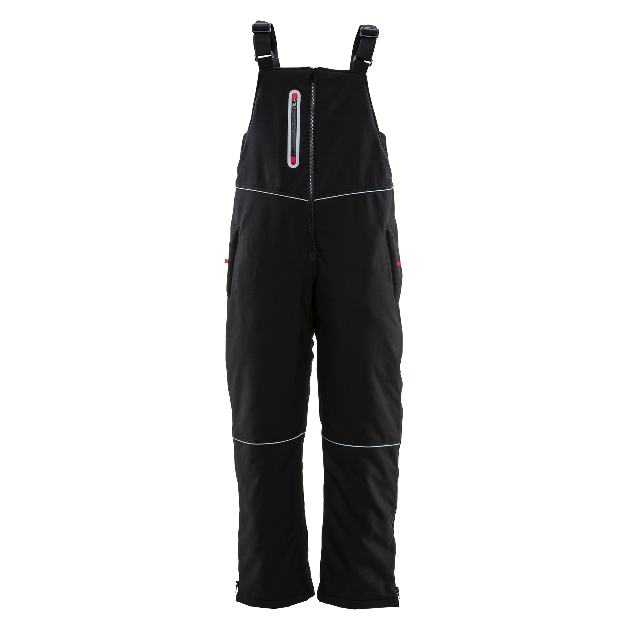 RefrigiWear Women's Insulated Softshell Bib Overalls